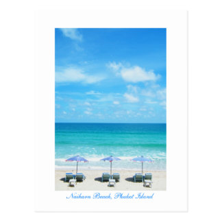 Naiharn Beach, Phuket Island Post Card