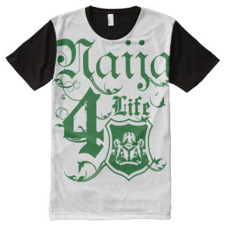 Naija4life All-Over-Print T-Shirt