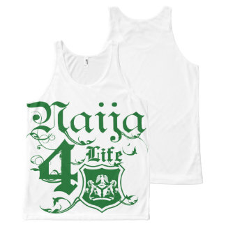 Naija4life All-Over Print Tank Top