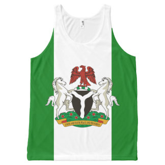 Naija4life All-Over-Print Tank Top
