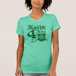 Naija4life design with Nigerian Coat of arms T-Shirt