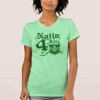 Naija4life design with Nigerian Coat of arms T Shirt