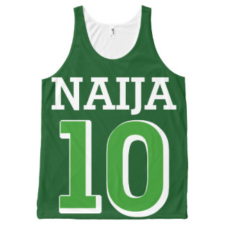 Naija 10 All-Over-Print tank top