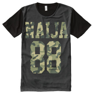 Naija 88 Camouflage designs All-Over-Print T-Shirt