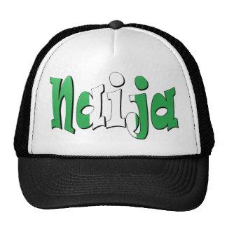 Naija (bandera nigeriana) gorras de camionero