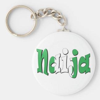Naija (bandera nigeriana) llavero personalizado