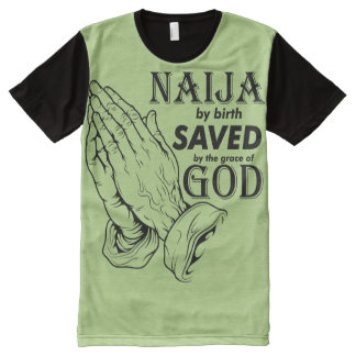 Naija by birth All-Over-Print T-Shirt