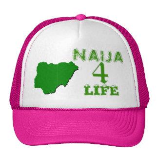 Naija(nigerian female hat) trucker hat
