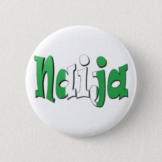 Naija (Nigerian Flag) Pinback Button
