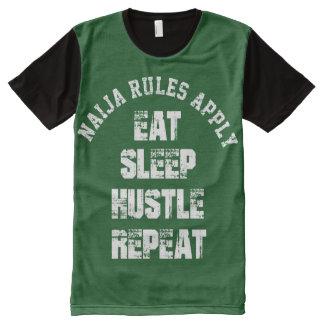 Naija Rules Apply All-Over Print T-shirt