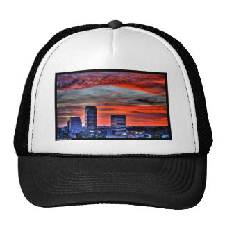 Naik Michel Photography - Sunset over Santa Monica Trucker Hat
