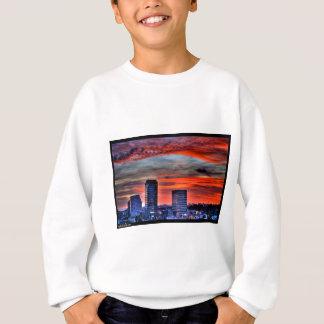 Naik Michel Photography - Sunset over Santa Monica Sweatshirt