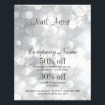 """nail artist business personalized flyer<br><div class=""""desc"""">nail artist business personalized flyer</div>"""
