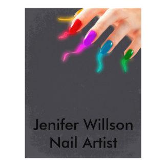 Nail Artist Flyer
