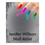 Nail Artist Flyer Flyer 11.43 X 14.22cm