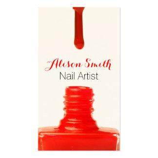 Nail Artist/Nail Polish Business Cards