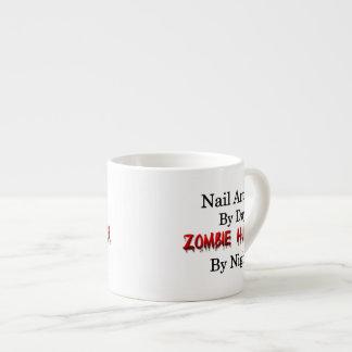 Nail Artist/Zombie Hunter Espresso Cup