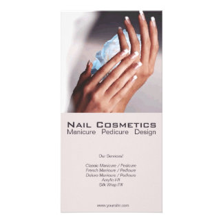 Nail Cosmetics 1 - Flyer, Photo Card
