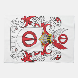 Nail Family Crest Towel
