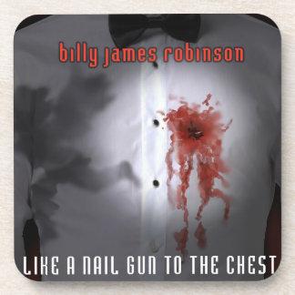 Nail Gun Album Cover Coaster Set