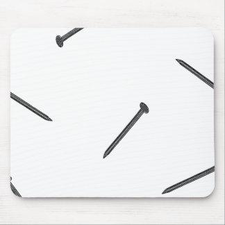 nail pattern mouse pad
