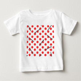 nail pattern with dots baby T-Shirt