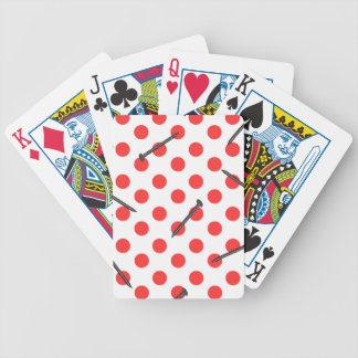 nail pattern with dots bicycle playing cards