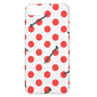 nail pattern with dots iPhone 5C cover