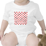 nail pattern with dots romper