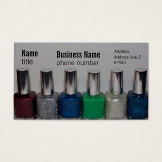 Nail Polish Business Card
