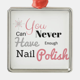 Nail polish lover- Click to purchase Metal Ornament