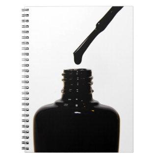 Nail Polish Notebook
