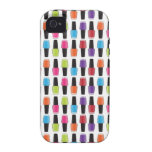 Nail polish pattern case for the iPhone 4