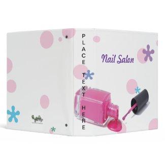 Nail Salon Binder binder