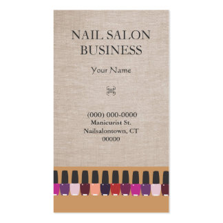 Nail Salon Business Card Pack Of Standard Business Cards