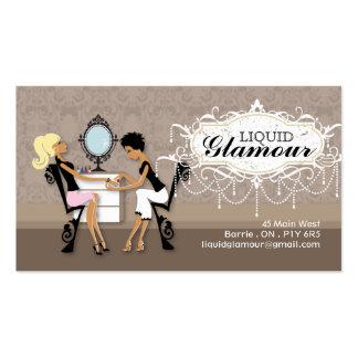 Nail Salon Business Card