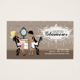 Nail Salon Business Card