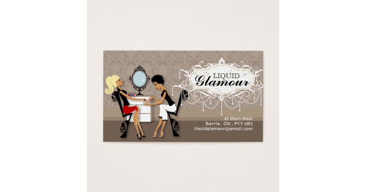 Mirror Business Cards & Templates | Zazzle