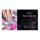 Nail Salon Business Card Business Card Template