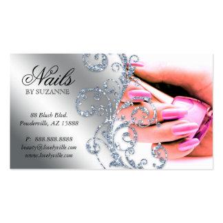 Nail Salon Business Cards 3100 Nail Salon Business Card