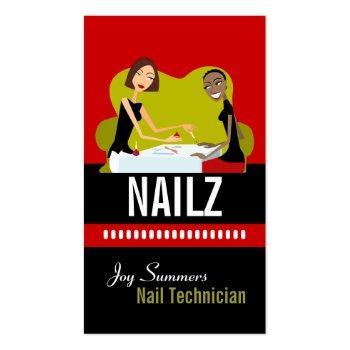 Nail Salon Business Cards profilecard