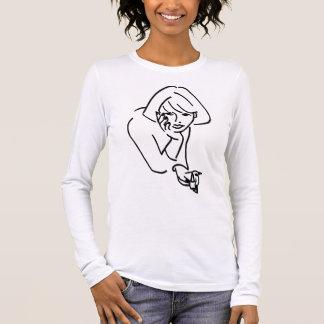NAIL SALON - DAY SPA PEDICURE MANICURE - NAIL TECH LONG SLEEVE T-Shirt