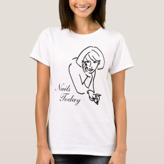 NAIL SALON - DAY SPA PEDICURE MANICURE - NAIL TECH T-Shirt