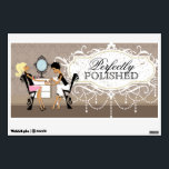 """Nail Salon Decal<br><div class=""""desc"""">Customizable Nail Salon Decal - Created by Colourful Designs Inc and Licensors. Copyright 2012-2013.</div>"""
