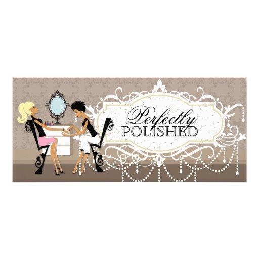 nail salon gift certificate zazzle
