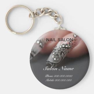 Nail salon keychain