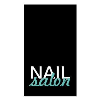 nail salon manicures punch card Double-Sided standard business cards (Pack of 100)