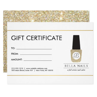 Nail Salon Invitations & Announcements | Zazzle