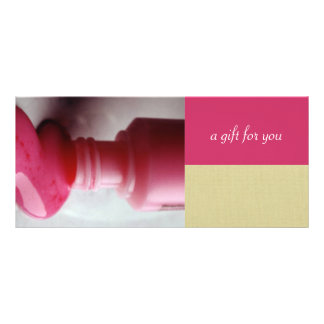 Nail Salon or Day Spa Gift Certificates Full Color Rack Card