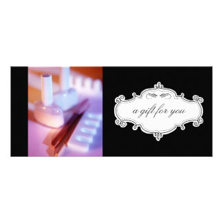 Nail Salon or Day Spa Gift Certificates Rack Cards